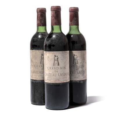 Lot 119 - 6 bottles 1972 Ch Latour