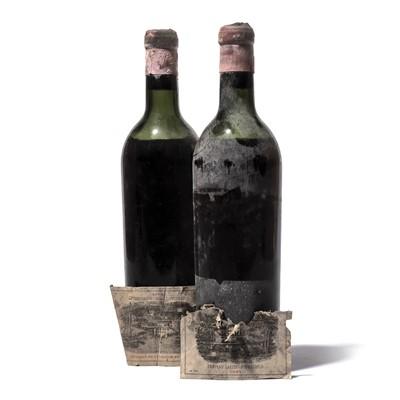 Lot 95-2 bottles 1945 Ch Lafite-Rothschild