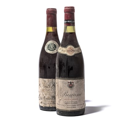 Lot 178-12 bottles Mixed Red Burgundy