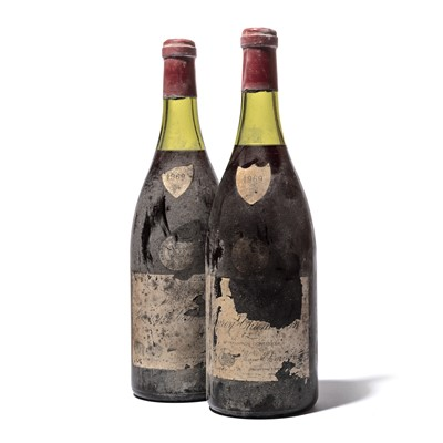 Lot 179-2 magnums 1969 Gevrey-Chambertin