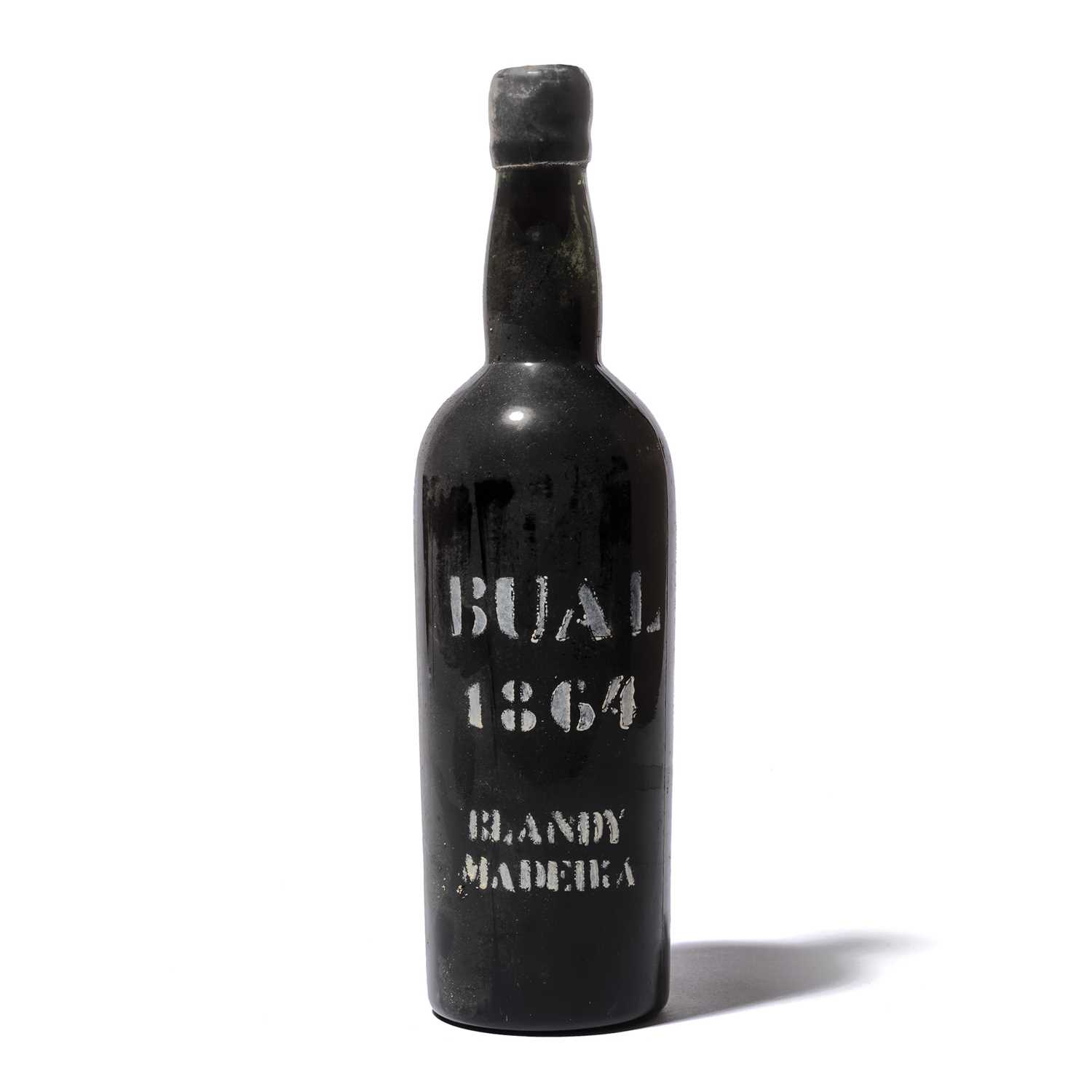 Lot 26-1 bottle 1864 Bual
