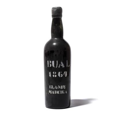 Lot 26-1 bottle 1864 Bual