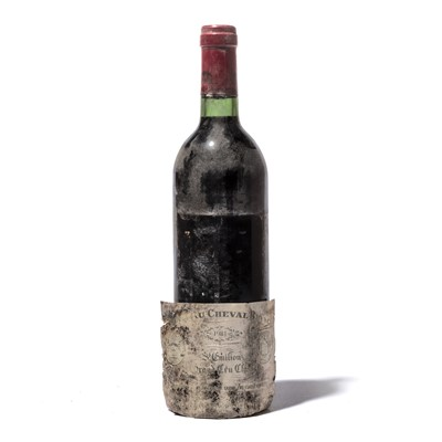 Lot 113-4 bottles 1981 Ch Cheval Blanc