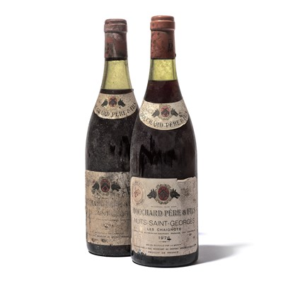 Lot 152-11 bottles Mixed 1976 Bouchard