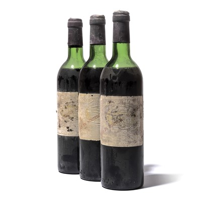 Lot 108-3 bottles 1977 Chateau Margaux