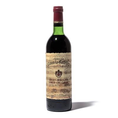 Lot 66-12 bottles 1978 Ch Canon la Gaffeliere