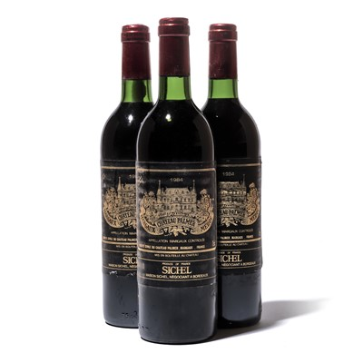 Lot 74-12 bottles 1984 Ch Palmer