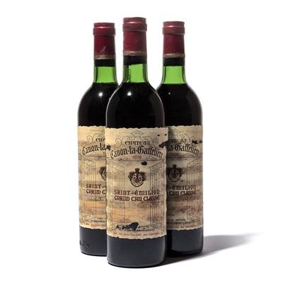 Lot 68-12 bottles 1978 Ch Canon la Gaffeliere