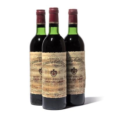 Lot 69-12 bottles 1978 Ch Canon la Gaffeliere