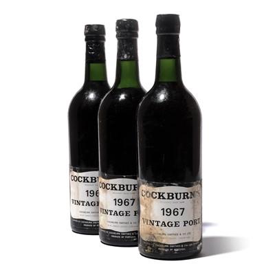 Lot 6-12 bottles 1967 Cockburn