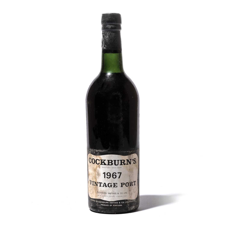Lot 7-12 bottles 1967 Cockburn
