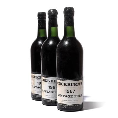 Lot 8-12 bottles 1967 Cockburn