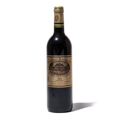 Lot 43-10 bottles 1999 Ch Batailley