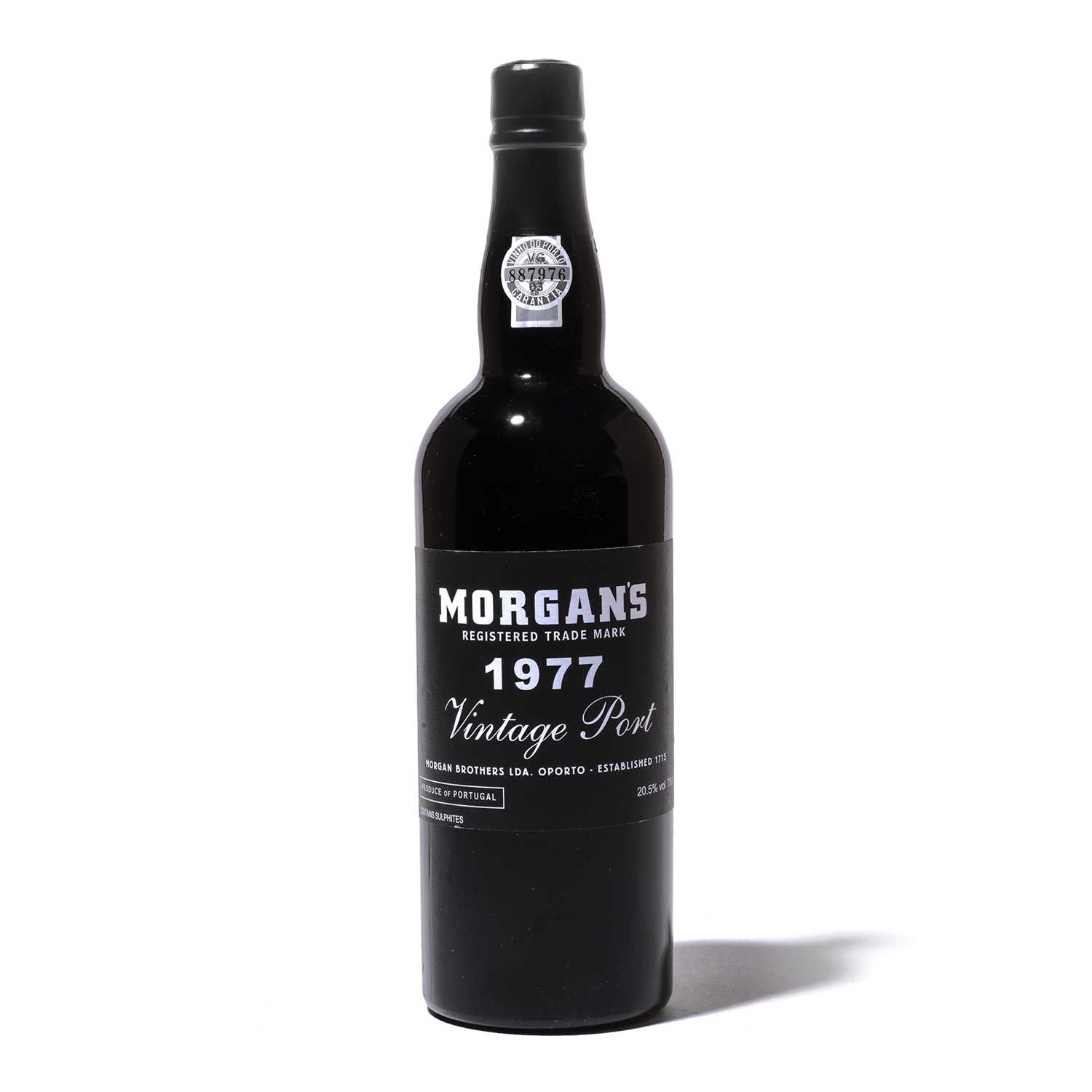 Lot 13-12 bottles 1977 Morgan