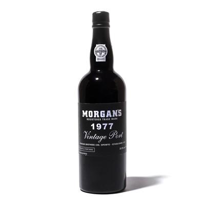 Lot 13-12 bottles 1977 Morgan