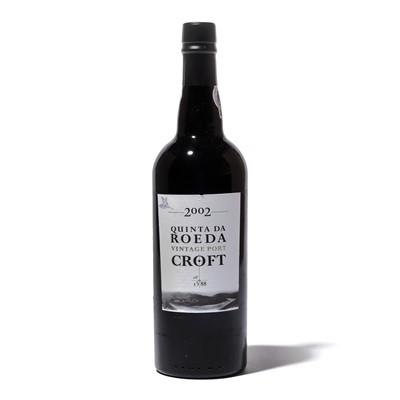 Lot 15-12 bottles 2002 Croft Quinta do Roeda