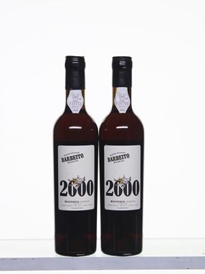 Lot 181 - 4 bottles  2000 Barbeito  Single Cask  Malvasia Colheita