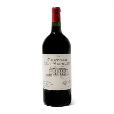 Lot 111-3 double magnums 1998 Ch Haut Marbuzet