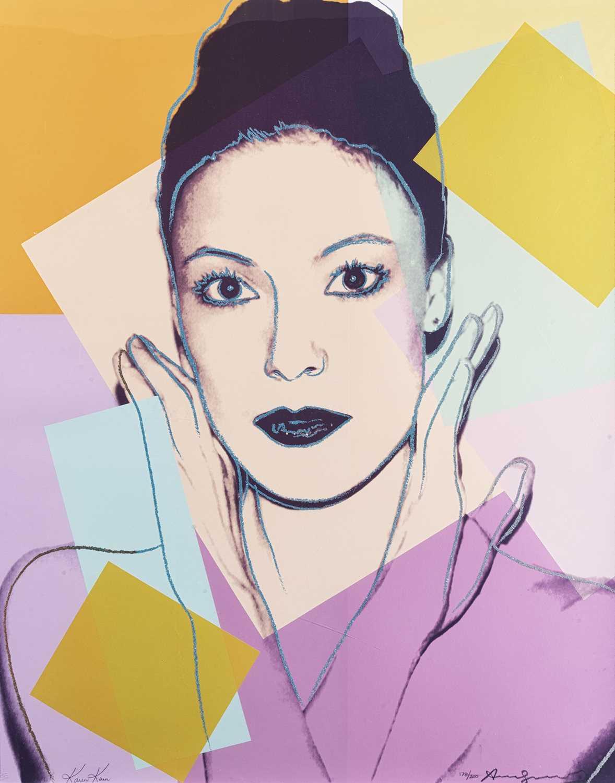 120 - Andy Warhol (American 1928-1987), 'Karen Kain', 1980
