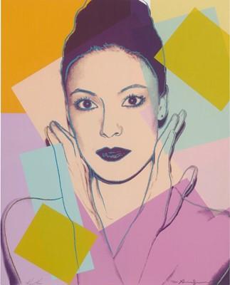 Lot 120 - Andy Warhol (American 1928-1987), 'Karen Kain', 1980