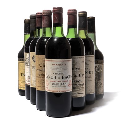 Lot 132-8 bottles Mixed Bordeaux