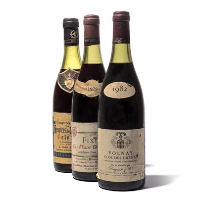 Lot 180-3 bottles Mixed Red Burgundy