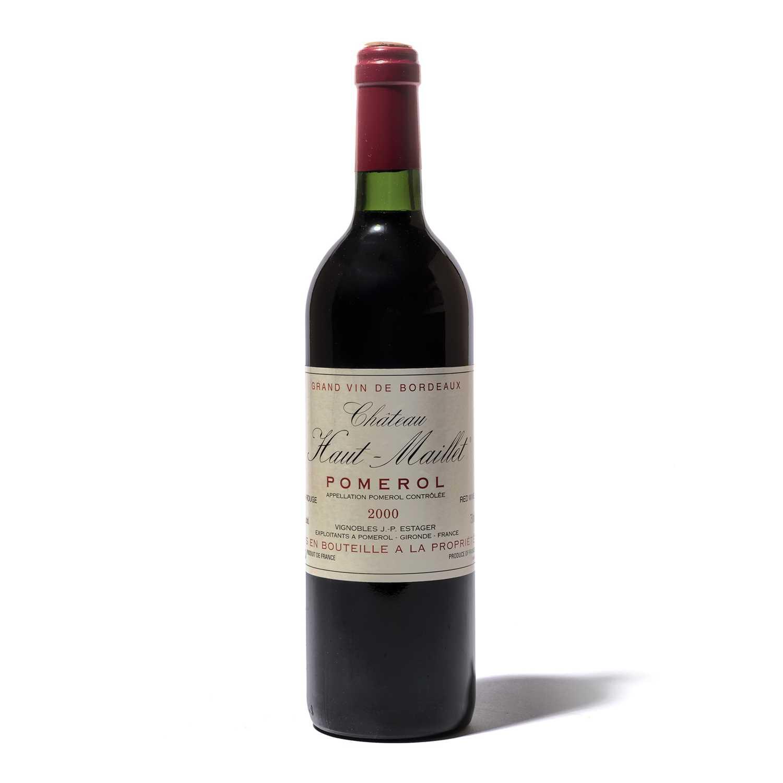 Lot 87-12 bottles 2000 Ch Haut Maillet