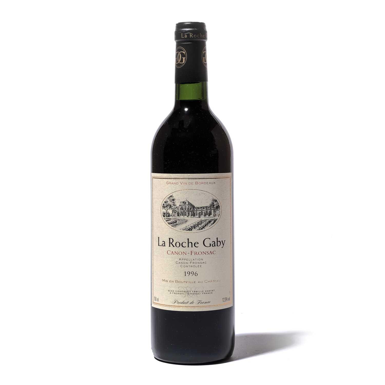 Lot 86-12 bottles 1996 Ch La Roche Gaby