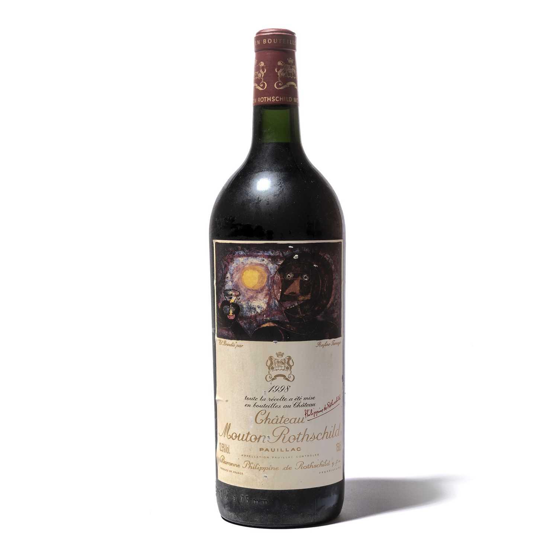 Lot 41-1 magnum 1998 Ch Mouton-Rothschild