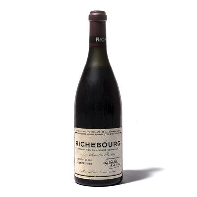 Lot 138-1 bottle 1993 Richebourg DRC