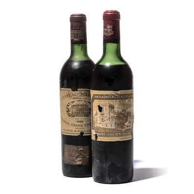 Lot 102-2 bottles Mixed Bordeaux