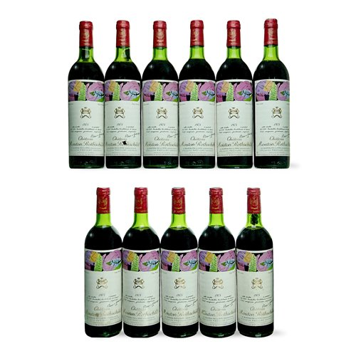 Lot 176-1975 Chateau Mouton-Rothschild