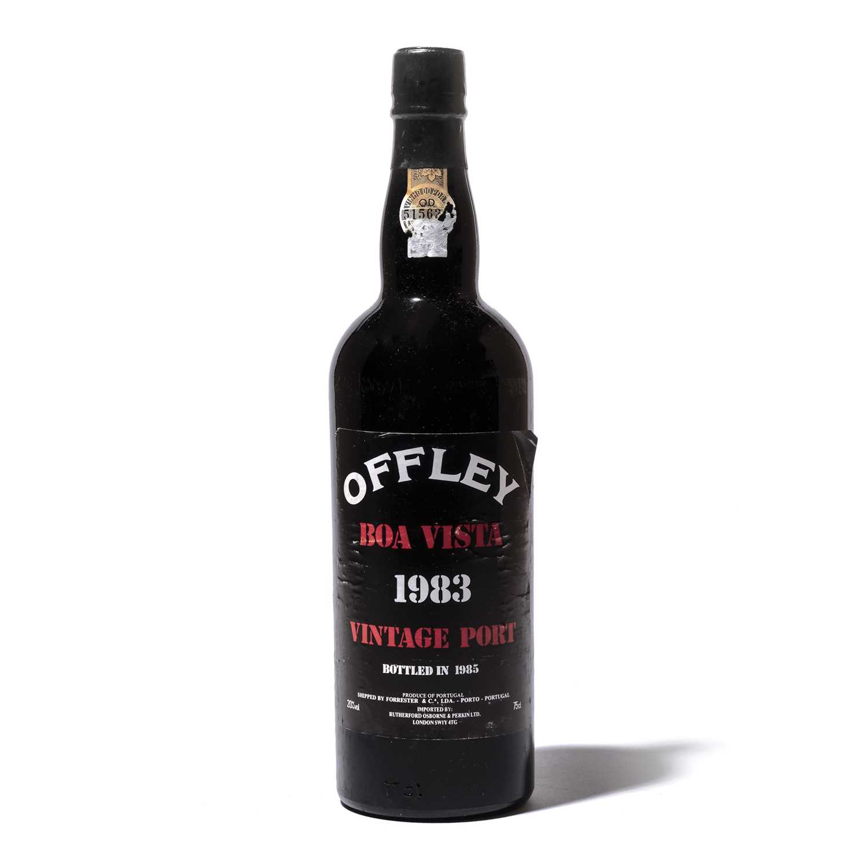 Lot 23-12 bottles 1983 Offley Boa Vista