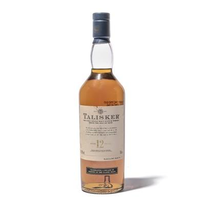 Lot 170 - 1 bottle Talisker 12 Year Old Friend of the Classic Malts