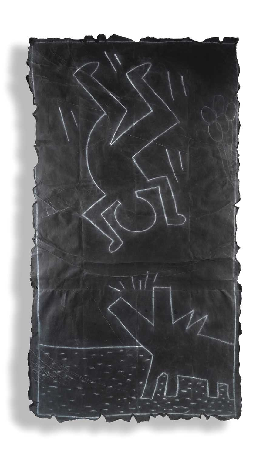 Lot 190 - Keith Haring (American 1958-1990), 'Untitled (Subway Drawing), 1980s