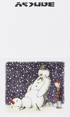 Lot 56 - Banksy (British 1974-), 'Rude Snowman', 2003