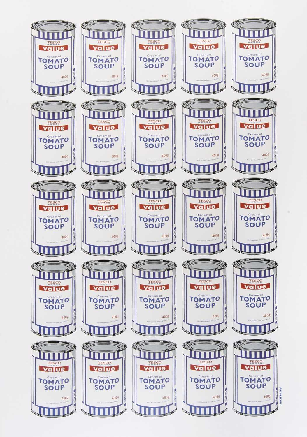 Lot 72 - Banksy (British 1974-), 'Soup Cans Poster', 2010