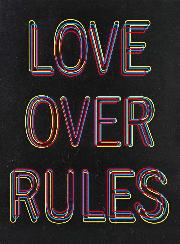 Lot 19 - Hank Willis Thomas (American 1976-), 'Love Over Rules', 2020