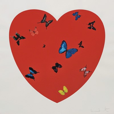 Lot 14 - Damien Hirst (British 1965-), 'All You Need Is Love Love Love', 2008