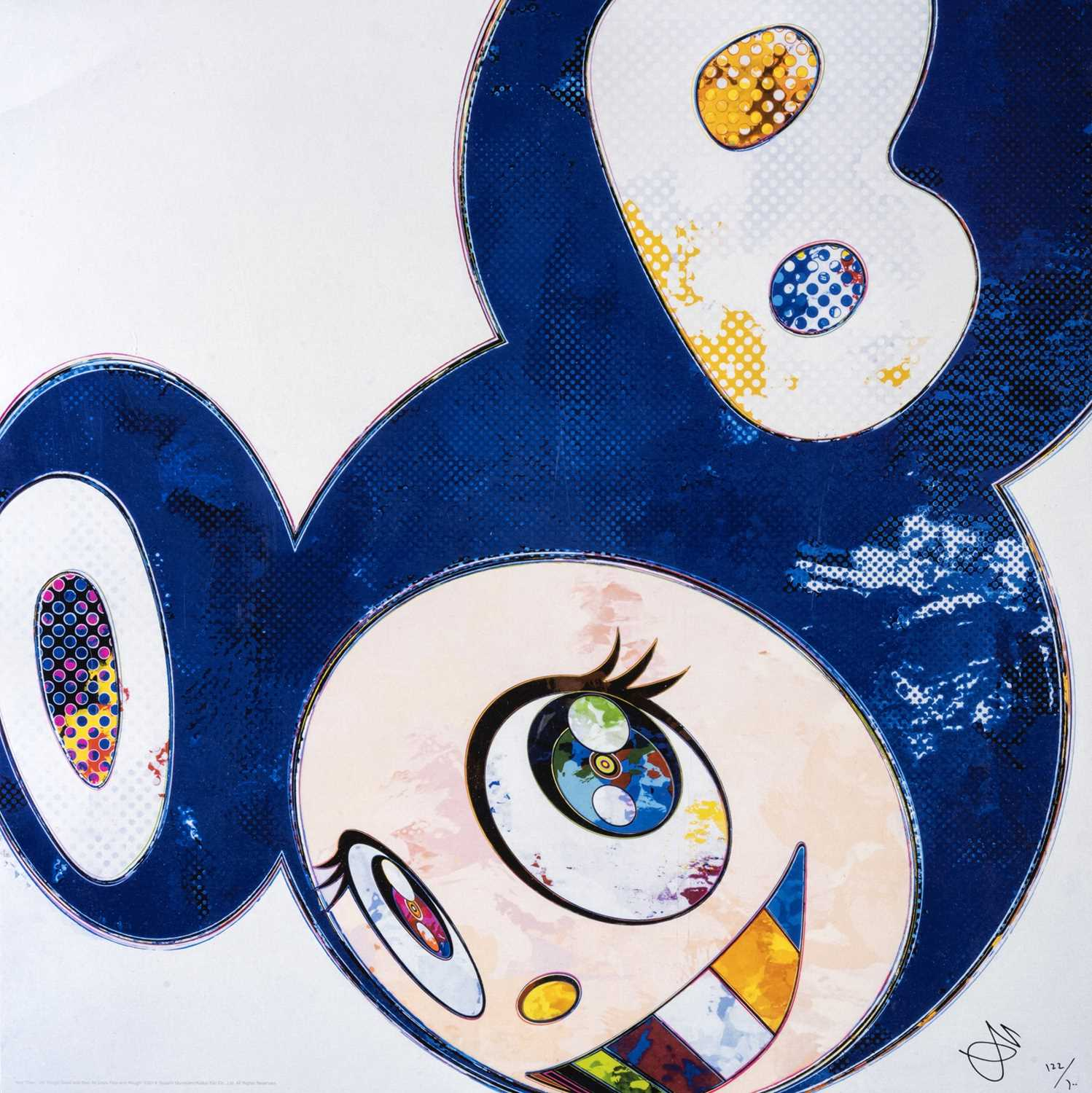 Lot 46 - Takashi Murakami (Japanese 1962-), 'And Then...All Things Good And Bad, All Days Fine And Rough', 2014