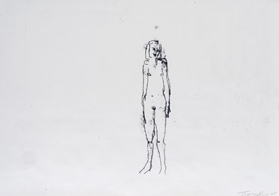 Lot 50 - Tracey Emin (British 1963-), 'When I Think About Sex', 2005