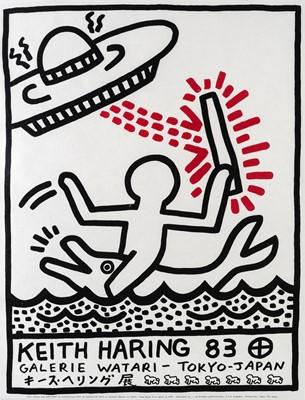 Lot 95 - Keith Haring (American 1958-1990), 'Galerie Watari', 1983