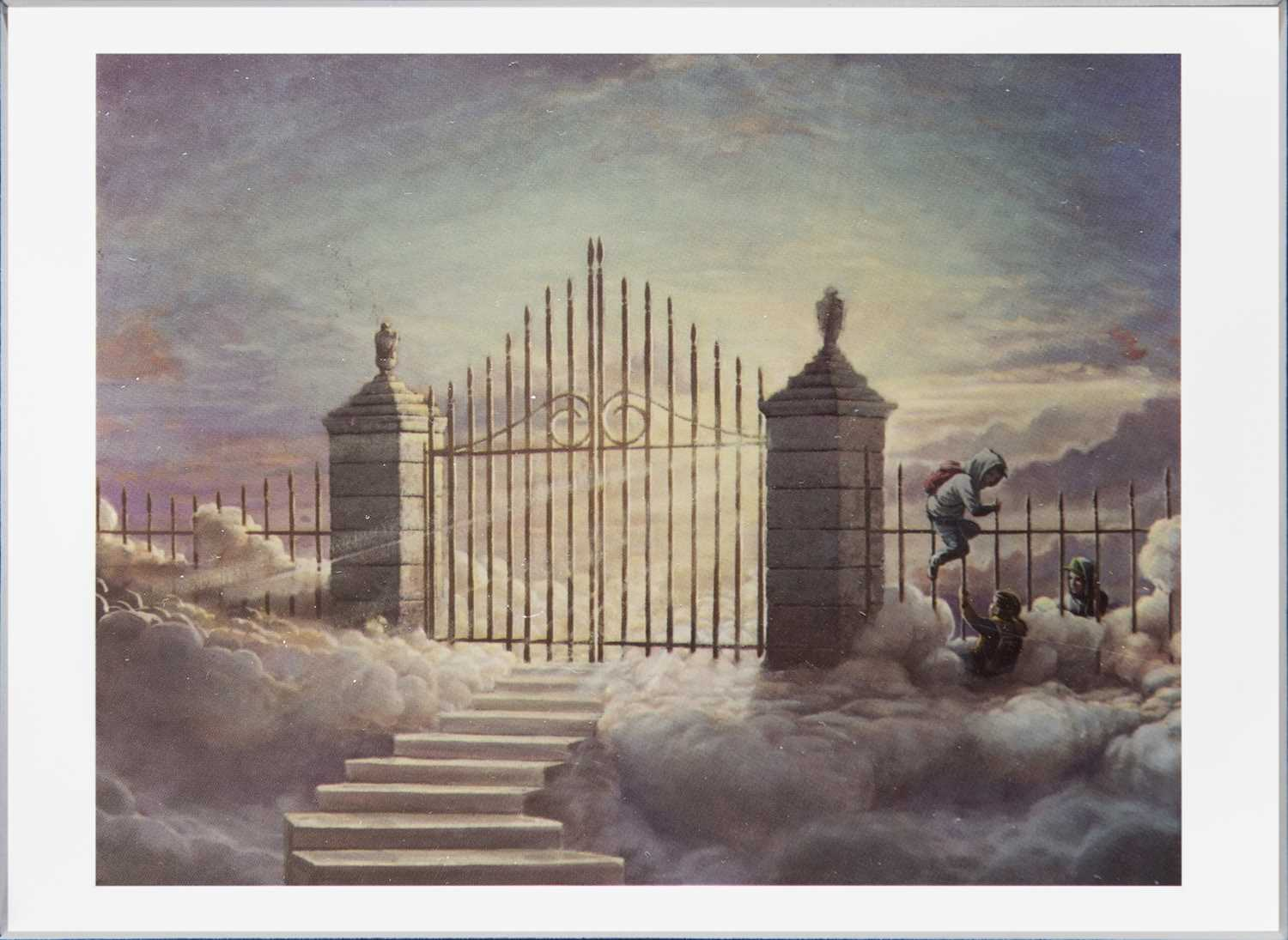 Lot 62 - Banksy (British 1974-), 'Walled Off Hotel Postcard', 2017