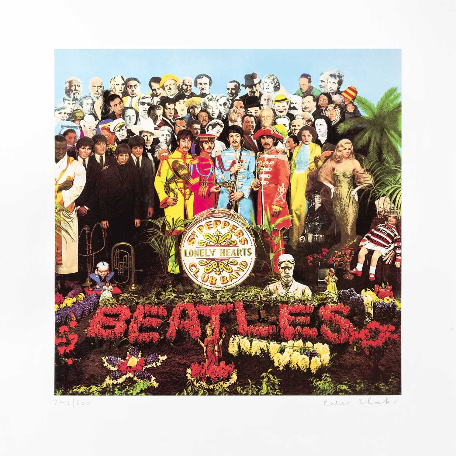Lot 40 - Peter Blake (British 1932-), 'Sergeant Pepper's Lonely Hearts Club Band', 2007