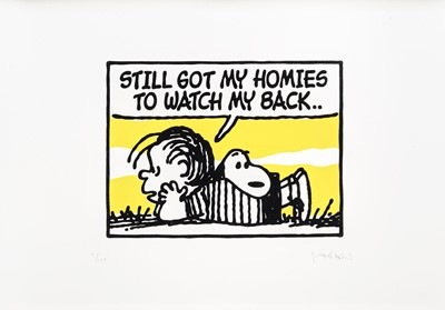 Lot 33 - Mark Drew (Australian 1978-), 'Still Got My Homies To Watch My Back (Cypress Hill)', 2019