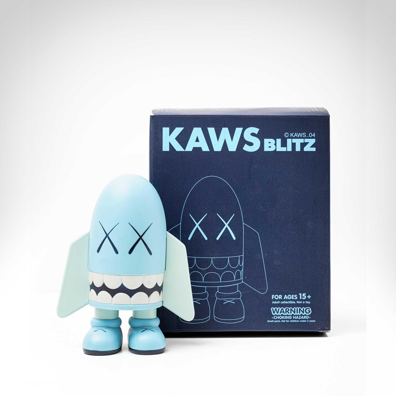 Lot 95 - Kaws (American 1974-), 'Blitz (Blue)', 2004