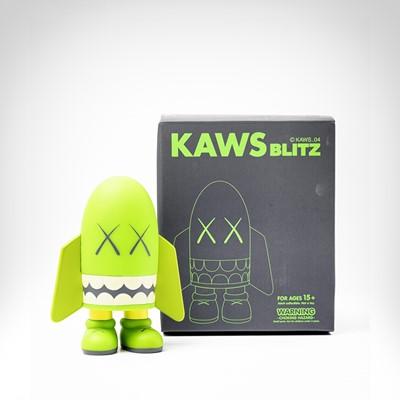 Lot 96 - Kaws (American 1974-), 'Blitz (Green)', 2004