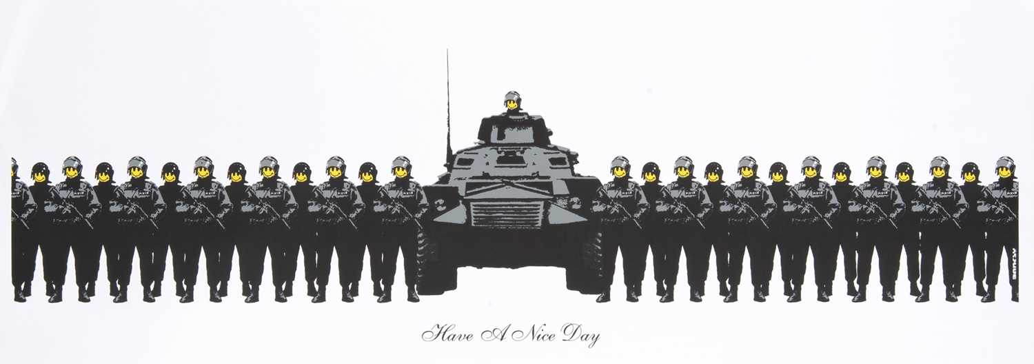 Lot 78 - Banksy (British 1974-), 'Have A Nice Day', 2003