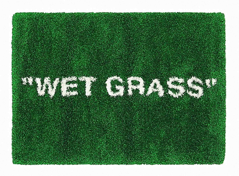 Lot 52 - Virgil Abloh & Ikea (Collaboration), 'Wet Grass', 2019
