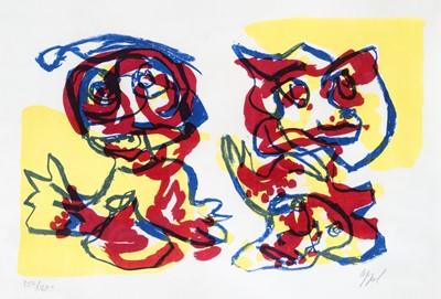 Lot 27 - Karel Appel (Dutch 1921-2006), 'Untitled', circa 1965